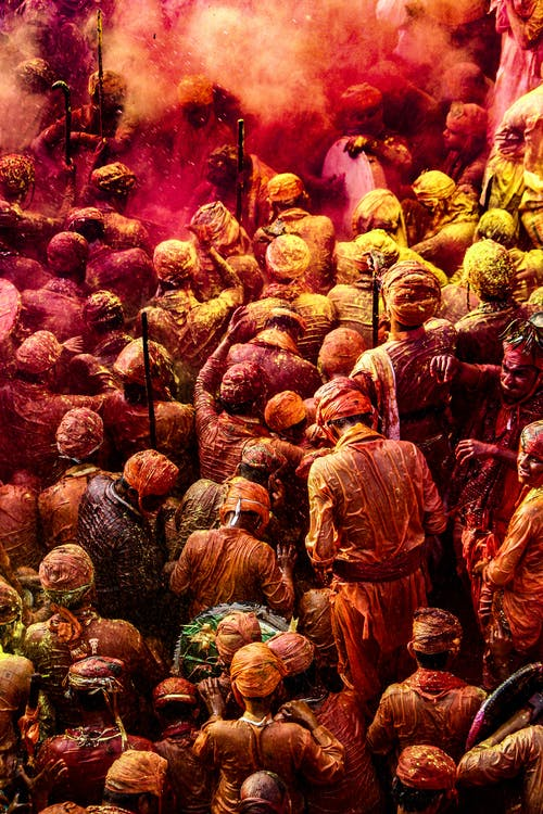 holi festival with bhang